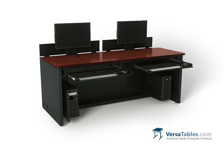 91 best Enclosed Versa Desk CD Series images on Pinterest