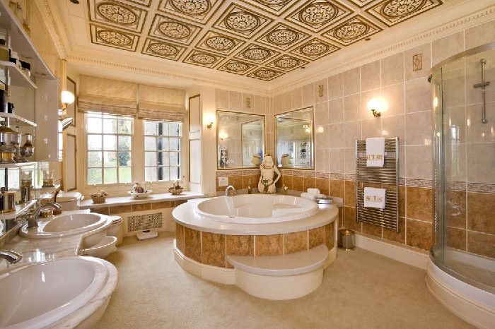 22 Best Images About Cozy And Huge Bathrooms On Pinterest Soaking Tubs Ens