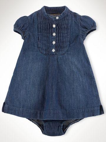 Tunic Dress - Infant Girls Dresses & Rompers - RalphLauren.com