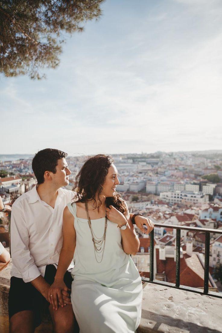 Lisbon Engagement shoot // Engagement shoot in Lisbon // Engagement shoot // Sessão de Noivado em Lisbon // Helena Tomás Photografia
