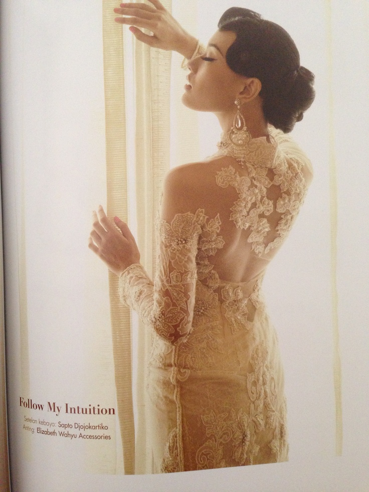 More detailed with the kebaya. Just gorgeous!