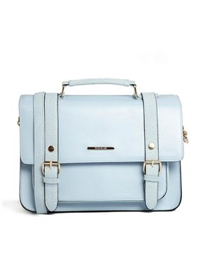 River Island Pastel Blue Satchel