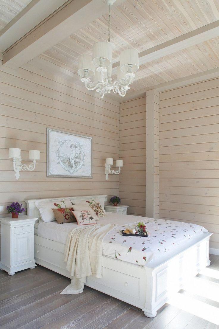 Фотография: Спальня в стиле Кантри, Дом, Проект недели, Московская область, дом…