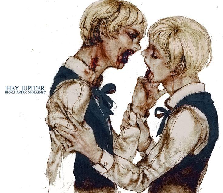 Vampire Boys by ~laphet on deviantART