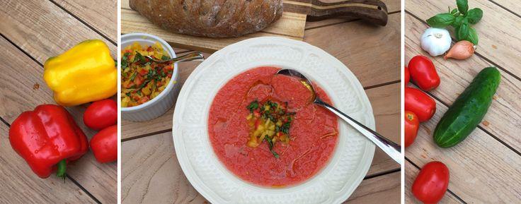 Voici la recette de mon fameux gaspacho. J'ai essayé plusieurs recettes, mais…