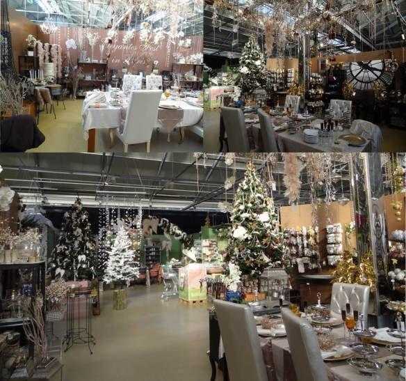 Mercado de Natal 2012 do Pflanzen Kölle - Festa elegante em Paris