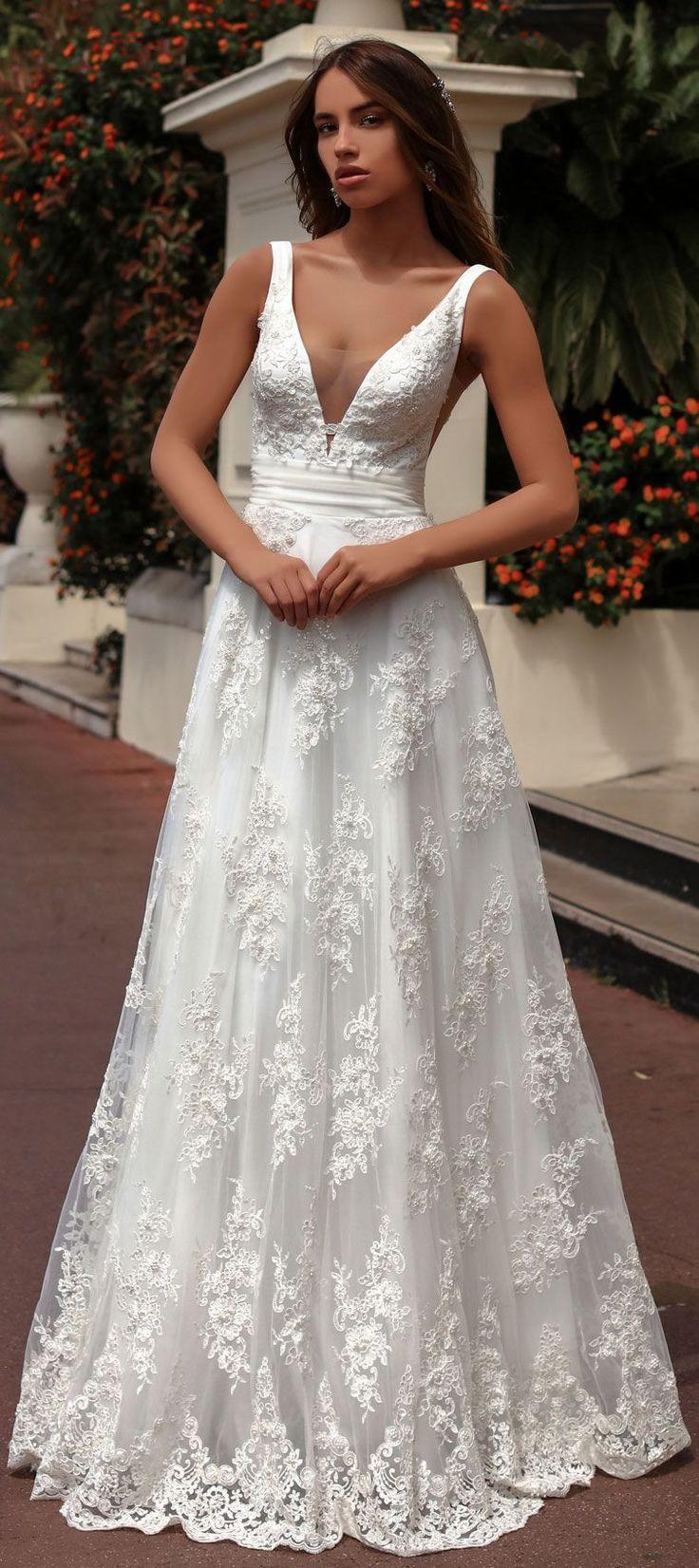 Katherine Joyce 2018 Wedding Dresses Ma Cherie Bridal Collection A Line Wedding Dress Wedding Dresses Gorgeous Wedding Dress