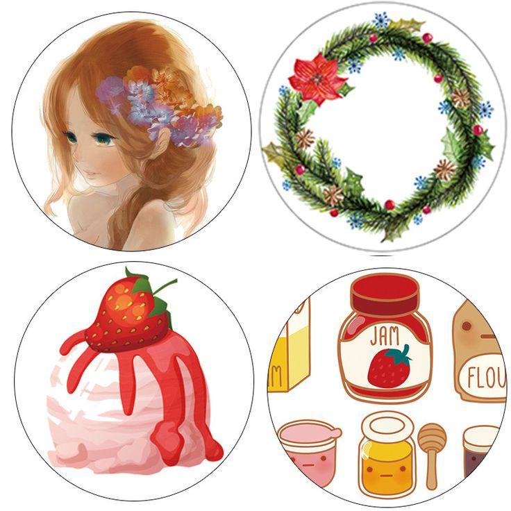 DIY Papel Japonés Washi Cintas Florales Niñas Cintas Adhesivas de Color Decorativo Cintas Adhesivas Scrapbooking Herramientas kawai 10 m Alideco