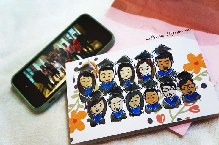 Read my graduation stories on my blog! #graduationgift #farewell melisasoe.blogspot.com