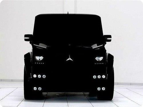 Mercedes Benz G Wagon.