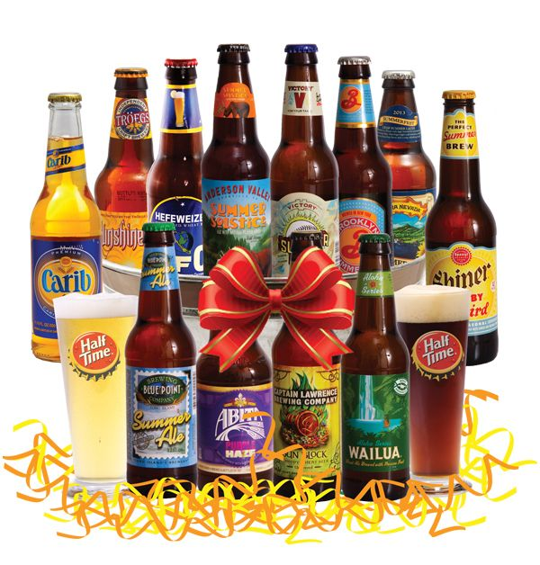 15 best beer baskets images on pinterest beer basket beer gift kick back and relax with a summer beer gift basket this basket is filled to negle Image collections