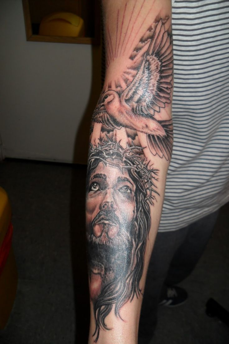 Religious Sleeve Tattoos