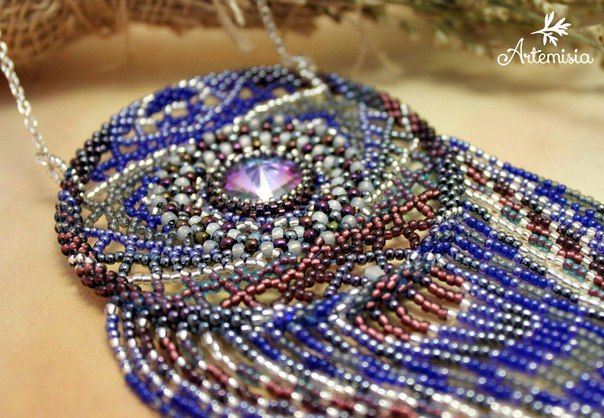 Artemisia™ - Beaded work