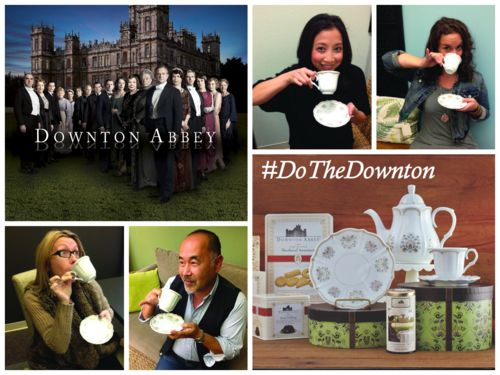 Downton Abbey Tea Party with World Market, the largest virtual Tea Party happening this Sunday 12/8/13.  Join us to celebrate the new upcoming season of Downton Abbey.  So put your pinky's up and share your photo's for a chance to win amazing prizes.  #DoTheDownton, #ad, #sponsor @Cost Plus World Market
