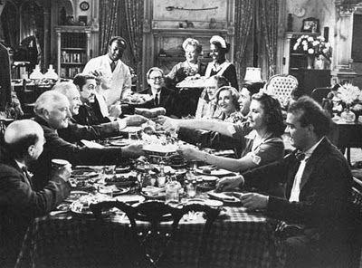 Lionel Barrymore, James Stewart, Jean Arthur, Eddie 'Rochester' Anderson, Donald…