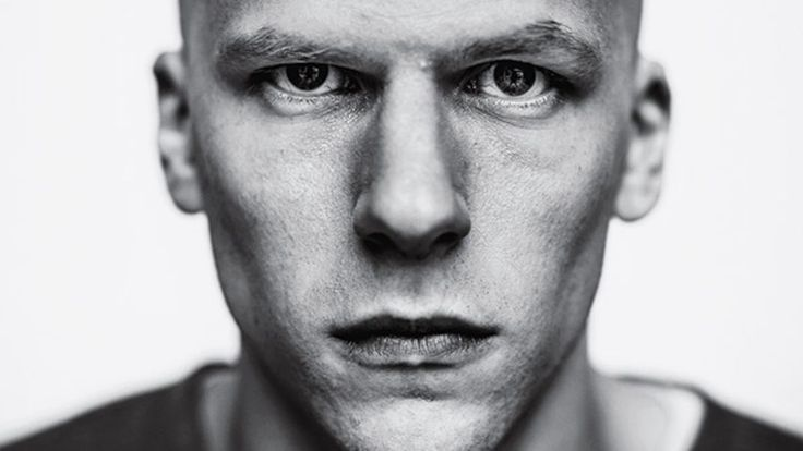 This is Jesse Eisenberg as Lex Luthor