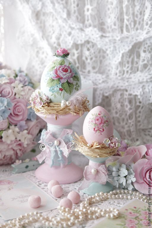 Ostern --- Shabby Chic --- easter