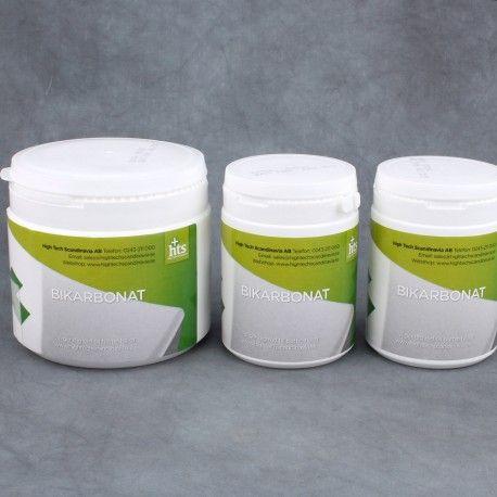 Med bikarbonat kan du göra kroppen mer basisk, fungerar också mycket snabbt och bra mot halsbränna.