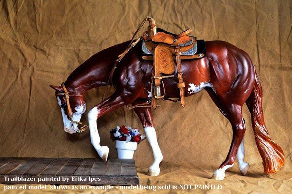 Artist Resin Stock Horse Mare TRAILBLAZER