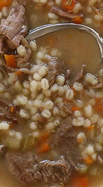 how to cook pearl barley in soup