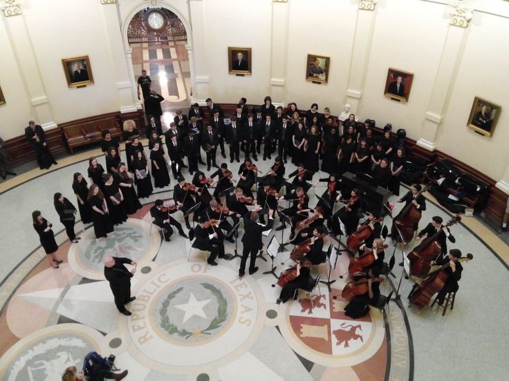 Atascocita High School Choir and Orchestra. March 19, 2015.