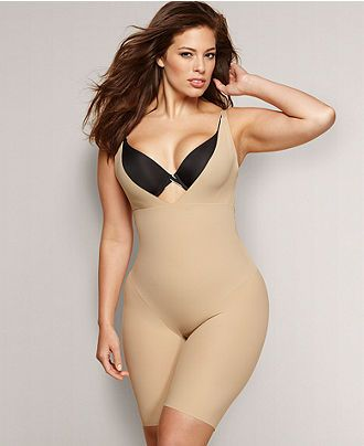 Flexees by Maidenform Wear for the plus size girl is made of nylon ...