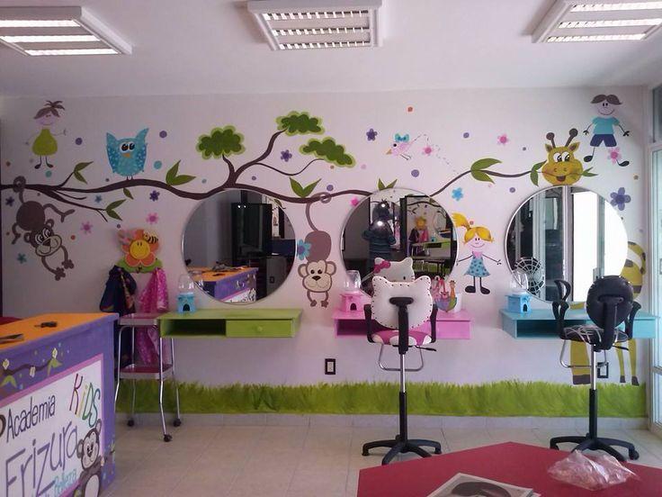 Les 13 meilleures images du tableau salons de coiffure for Salon de coiffure pour enfant