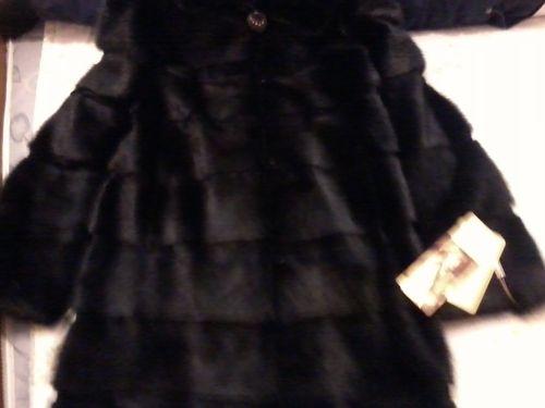Шуба норковая черный бриллиант