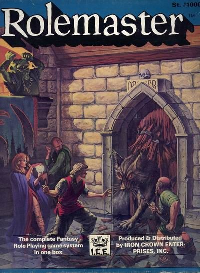 Product Line: Rolemaster  Product Edition: RM2  Product Name: Rolemaster Box  Product Type:   Author: ICE  Stock #: 1000  ISBN: 0-915795-04-3  Publisher: ICE  Cover Price: $38.00  Page Count: ? 288  Format: Box Set  Release Date: 1984  Language: English