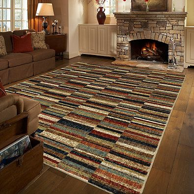 Mohawk Home Squared Up Multicolor Area Rug