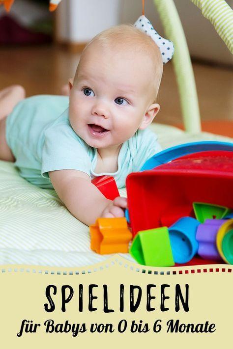 Idées de jeux pour bébés: de 0 à 6 mois   – Kinder und Babys