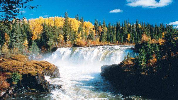 Pisew Falls, Manitoba, Canada