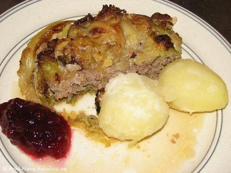 Recept - Kålpudding