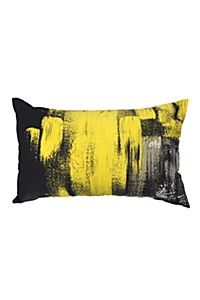 ABSTRACT PAINT 40X70CM SCATTER CUSHION