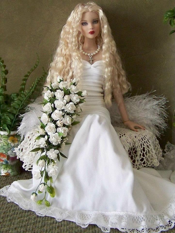 платье для куклы невесты фото следует