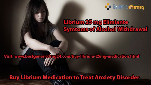 Buy #Librium 25 mg #tablets, as it is the most effective and useful 3medication used to maintain your mental issues like #anxiety, #depression, panic attacks, #alcohol #withdrawal etc. You can order Librium medication from #BestGenericDrug24 online pharmacy at most affordable prices. For more information about Librium anti-depressant medication available online without prescription, Visit us at http://www.bestgenericdrug24.com/buy-librium-25mg-medication.html