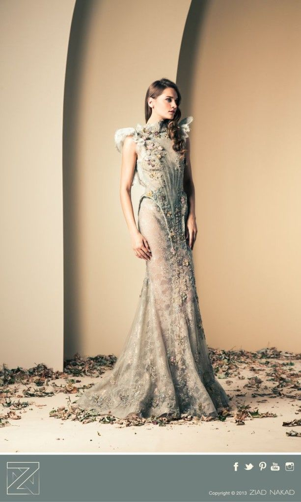 Okay I just want the entire collection now! Ziad Nakad Haute Couture Fall/Winter 2013-2014