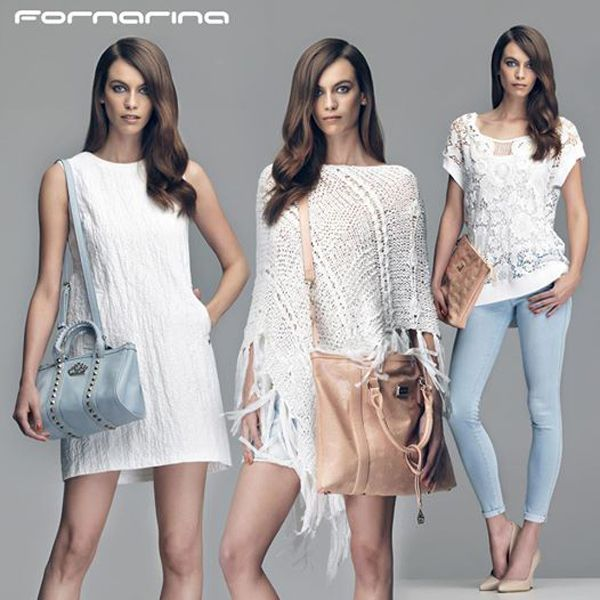 #white on summer! #leatherbags #nude #pastel