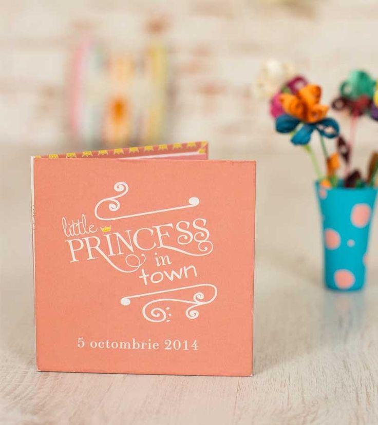 Invitatie de botez - Little Princess Book