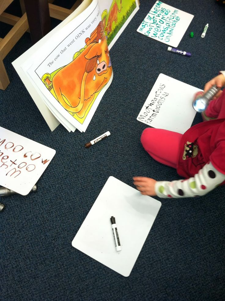 Library centers - kindergarten and first grade ideas