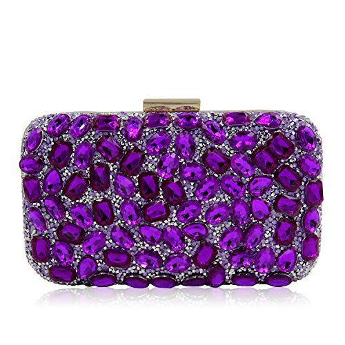 New Trending Clutch Bags: Milisente Women Beaded Clutch Bags Lady Evening Handbag (Purple). Milisente Women Beaded Clutch Bags Lady Evening Handbag (Purple)   Special Offer: $24.99      311 Reviews Milisente is specilized in Wholesale  Retail crystal evening bag,clutch purse, handbag and beaded crossbody shoulder bag. All of these clutch and purse, its simple and classic...