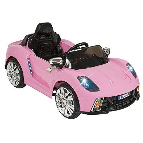 best choice products pink mp3 kids ride on car rc remote control car