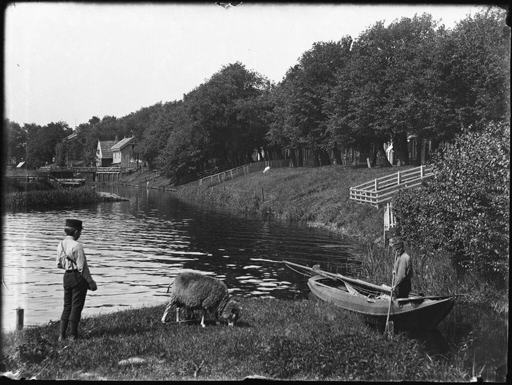 Buiksloterdijk, Amsterdam 1894. Foto: Jacob Olie