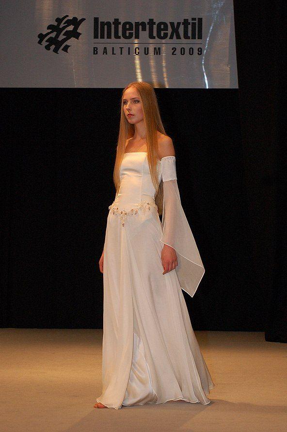 Эльфийское свадебное платье
