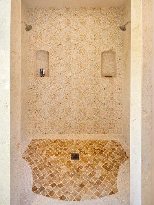 Moorish double shower!
