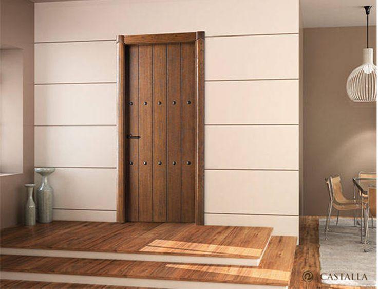 17 mejores ideas sobre puertas de entrada dobles en for Modelos de puertas