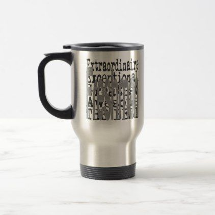 Freshman Extraordinaire Travel Mug - college gift idea customize diy unique special