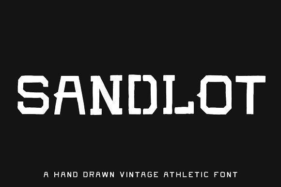Sandlot 5 Vintage Athletic Fonts In 2020 Athletic Fonts The Sandlot Athletic Inspired