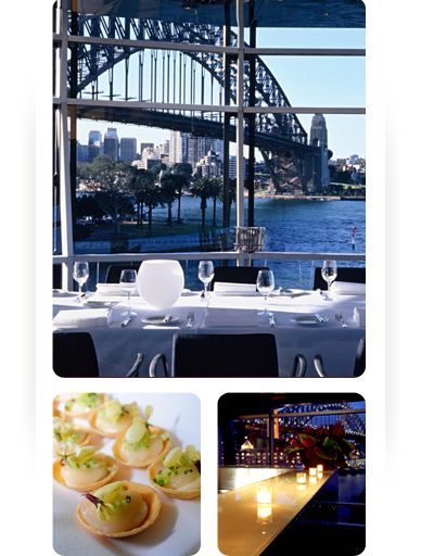View from Sydney's Quay:  Situated in the dress circle of the harbour, Quay has some of Sydney's most spectacular views, sweeping from the Opera House to the Harbour Bridge. The food created by chef Peter Gilmore is equally awe-inspiring.