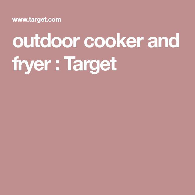 outdoor cooker and fryer : Target